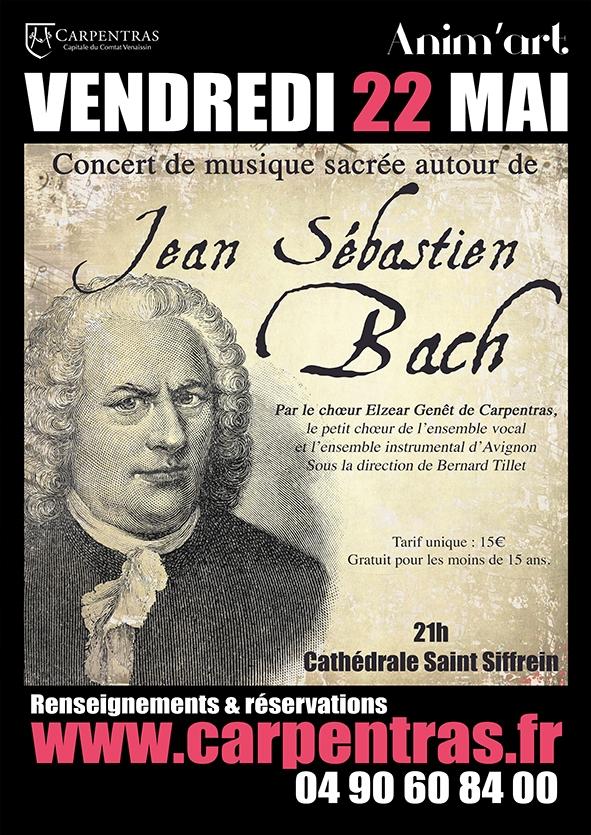 Choeur Elzéar Genêt Carpentras Concert JS Bach 22 mai 2015